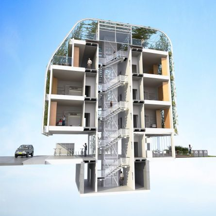 upto35 competition-student housing- erick velasco farrera, avp arhitekti, athens greece