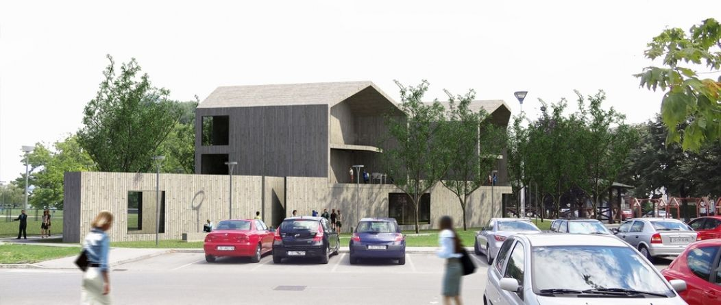 DDD_sick childcare home_avp arhitekti_competition-Zagreb Croatia