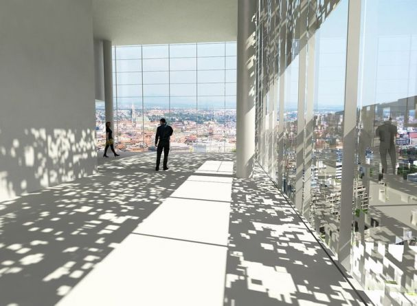 Miramarska business center competition, avp arhitekti, erick velasco farrera, Zagreb