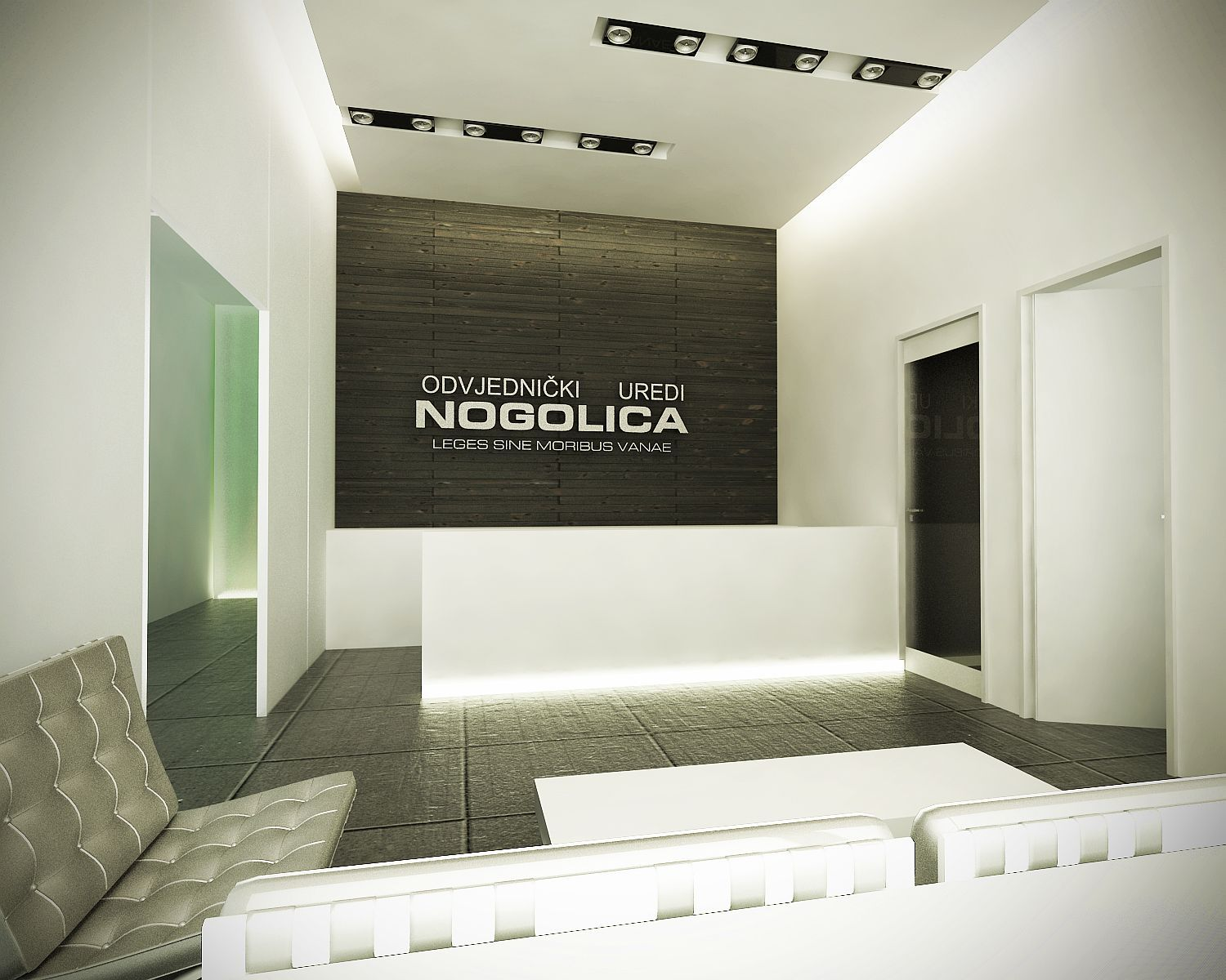 nog nogolica offices interior design zagreb avp