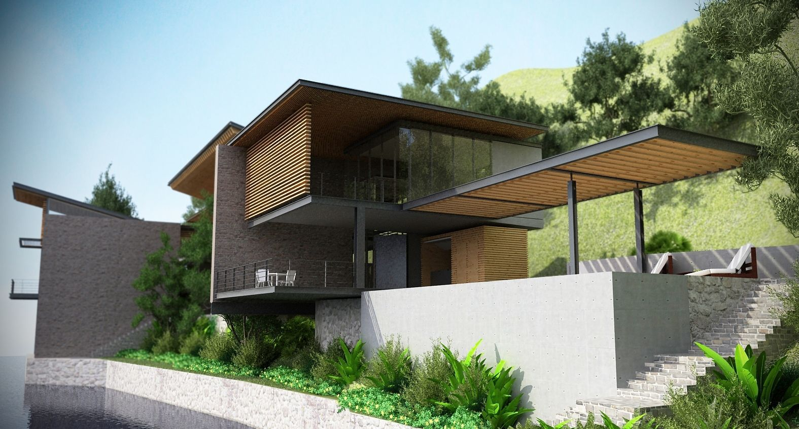 Pre presa lake house avp architecture interior design House architecture design online