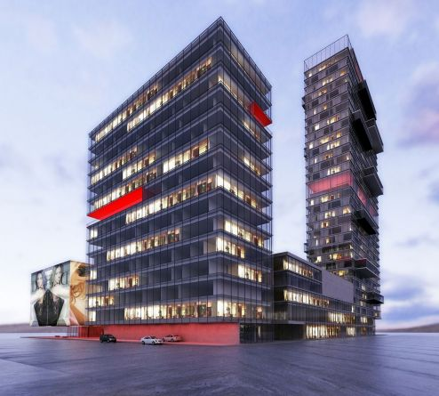 STR_strojarska business center_avp arhitekti_urbanism, architectural design, competition, erick velasco farrera