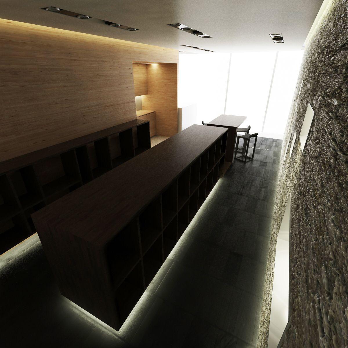 Vin vinothek interijer avp dizajn interijera avp for Hr design interiors
