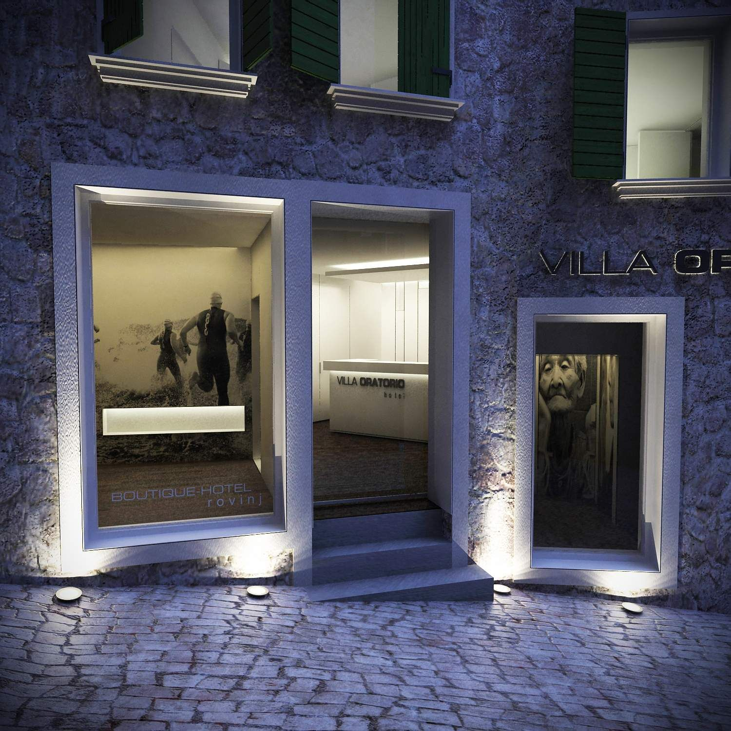 Rov boutique hotel rovinj urbanism interior design for Boutique design hotel
